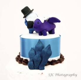 high key cake
