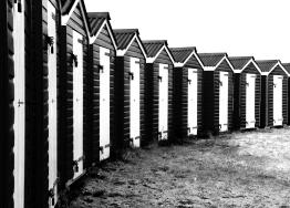 Littlehampton beach huts 2 small