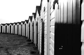Littlehampton beach huts small
